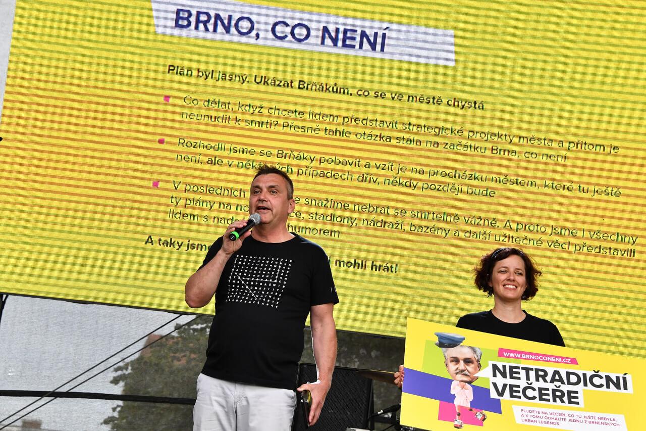Brno, co není